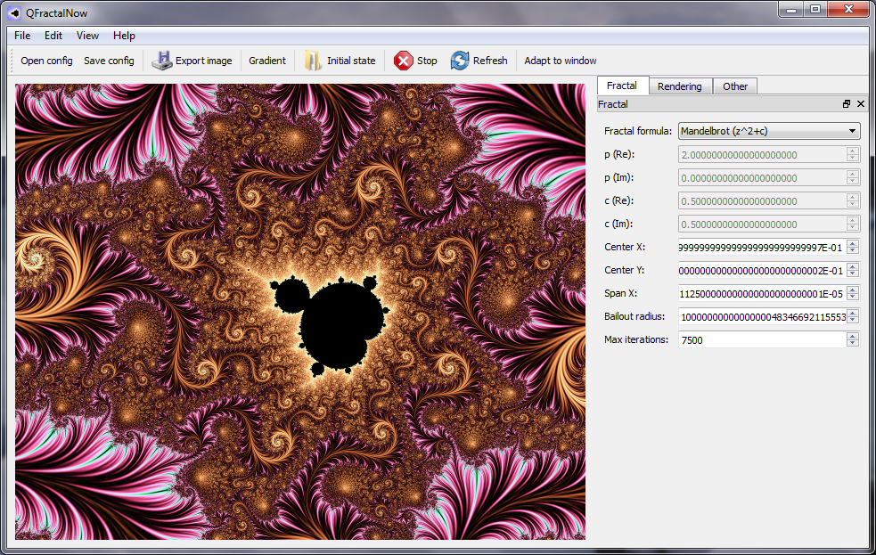 QFractalNow full screenshot